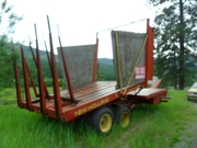 NH Bale Wagon For Sale 69 Bales